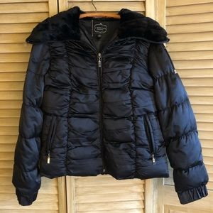 1 Madison Luxe Outerwear Down Puffer coat size L